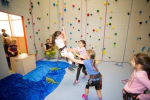 Kindergeburtstag Kletterhalle Sportpoint Meckenheim Bonn Rheinbach klettern