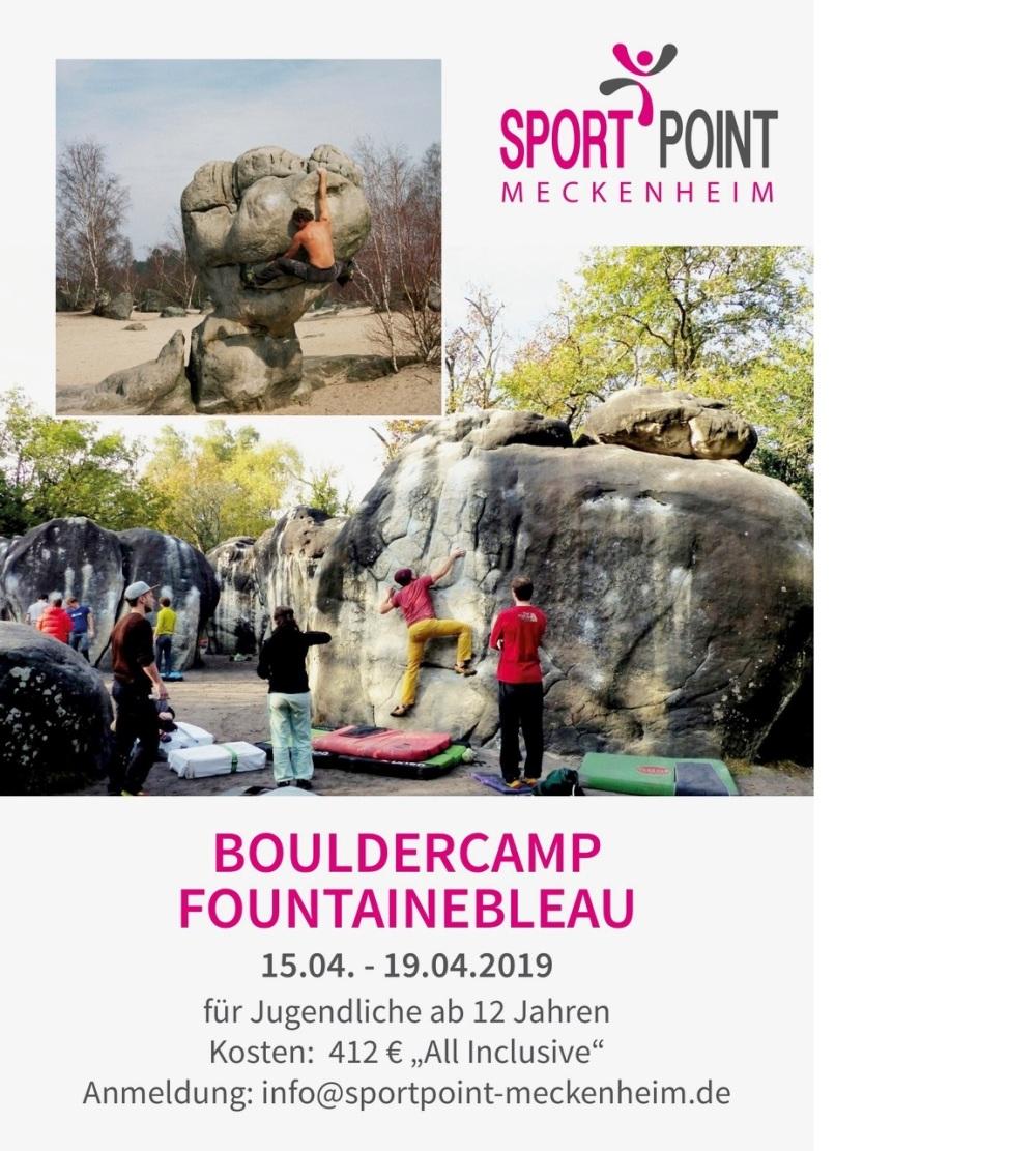 Bouldercamp Fountainbleau