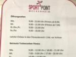 Öffnungszeiten Sportpoint Meckenheim, Kletterhalle Meckenheim, Bonn, Rheinbach, Soccerhalle, Sqash, badminton, Tennis