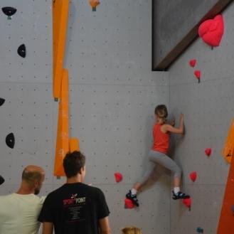 Klettertraining für Kinder und Jugendliche